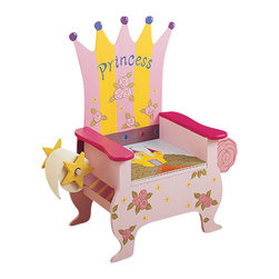 Teamson Design - Teamson Kids Hand Painted Princess Potty Chair - Teamson Design - Educational Toys - W4105B. A princess needs to have an eloquent seat! This hand painted potty chair portrays the princess theme, as well as a toilet paper holder and magazine holder!