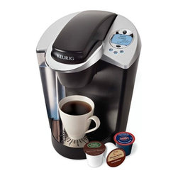 Keurig - Keurig K65 Gourmet Single-cup Home-brewing System with 12-pack K-cups - Having this Keurig single-cup home-brewing system is like having a tiny barista on your countertop. Whether you want coffee, tea, or hot chocolate, the K65 will prepare it for you with just the push of a button. You can even choose your serving size.