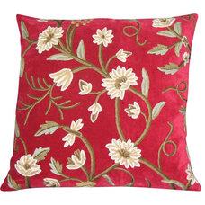 Craftsman Shams by Crewel Fabric World by MDS