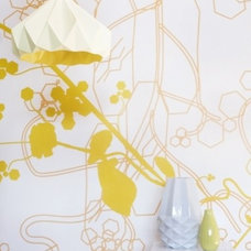 contemporary wallpaper by Studio Lilesadi