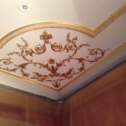 Ceilings, Ceiling Medallions & Ceiling Ornaments - Designed & Installed by Tom Ashworth, utilizing Decorators Supply ornamentation. Decorators Supply, Chicago, Il
