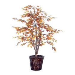 4 ft. Golden Birch Bush - About VickermanThis product is proudly made by Vickerman, a leader in high quality holiday decor. Founded in 1940, the Vickerman Company has established itself as an innovative company dedicated to exceeding the expectations of their customers. With a wide variety of remarkably realistic looking foliage, greenery and beautiful trees, Vickerman is a name you can trust for helping you create beloved holiday memories year after year.