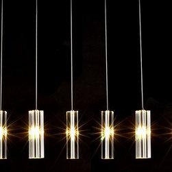 Modern Crystal Point Pendant Lighting -