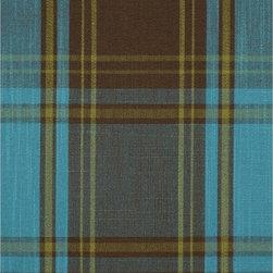 Blue Plaid Fabrics -