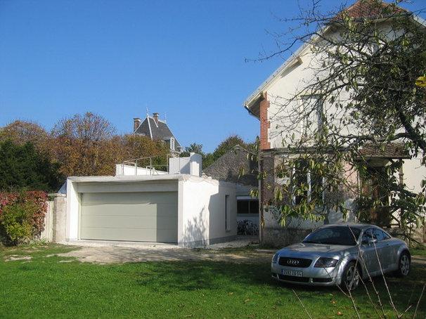 Moderne garage et abri de jardin by 3b architecture - Abri jardin en dur saint etienne ...