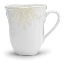 Lenox Butlers Pantry Gourmet Mug - Set of 4 - Enjoy great conversation with friends and a warm cup of coffee, whether on your couch or around the dinner table, with the Lenox Butlers Pantry Gourmet Mug - Set of 4. With a graceful scalloped edge and sculpted leaf motif, these mugs are perfect for any occasion. Microwave- and dishwasher-safe, these mugs are crafted from durable stoneware.About Lenox CorporationLenox Corporation is an industry leader in premium tabletops, giftware, and collectibles. The company markets its products under the Lenox, Dansk, and Gorham brands, propelled by a shared commitment to quality and design that makes the brands among the best known and respected in the industry. Collectively, the three brands share 340 years of tabletop and giftware expertise.