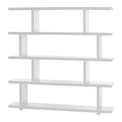 #N/A - Miri Shelf Large White - Miri Shelf Large White. Bookcase /Display cabinet/Room divider. Open design creates a light and airy feel to your home interior.