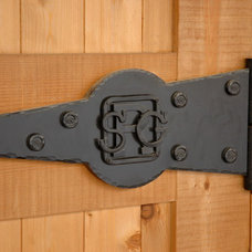 Traditional Front Doors by Reimer & Co. Blacksmiths