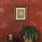 Small Persian Lace Border Stencil - Small Persian Lace Border Stencil from Royal Design Studio for walls, furniture, ceiling, floor, and fabric.