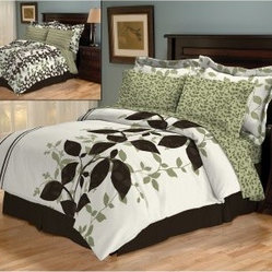 Casual Living by Jessica Sanders Aneta 8 pc. Reversible Turnstyle Bed in a Bag