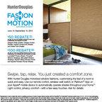 Hunter Douglas Promotion 2014, June 14 - Septemeber 15, 2014 - Next-generation energy efficiency, same beautiful honeycomb