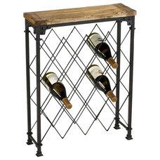 Industrial Wine Racks by Chachkies