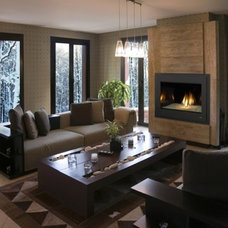 Contemporary  by Heat & Glo Fireplaces: Designed to Inspire