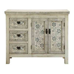 Coast To Coast - 2 Door and 3 Drawer Cabinet - 56360 - 2 Door and 3 Drawer Cabinet
