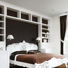 Contemporary Bedroom by Alison Mountain Interior Design