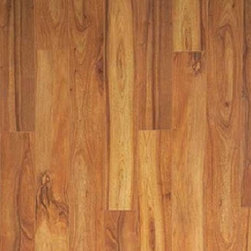 "Torowood - Brazilian Chestnut - 4"" - Prefinished - Brazilian Chestnut, aka, Sucupira, is a very hard, dense wood with coloring ranging from tan to a brownish-red color. On the Janka scale, Brazilian Chestnut ranks at a 2140. As with other exotic woods, Brazilian Chestnut will darken with exposure to sunlight."