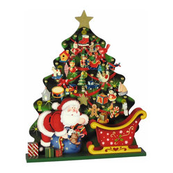 Santa and Tree Advent Calendar