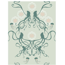 Contemporary Wallpaper by Grow House Grow