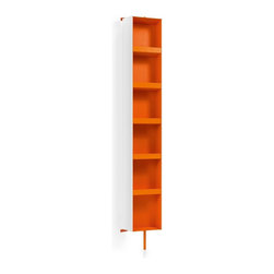 WS Bath Collections - Ciacole 8058.15 Cabinet with Mirror - Ciacole 8058.15 Rotating Cabinet with Mirror in Orange
