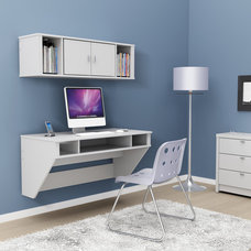 Modern Desks Designer Floating Desk
