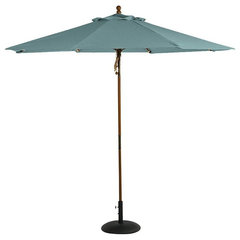 contemporary outdoor umbrellas by Pottery Barn