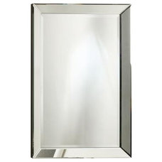 contemporary mirrors by The Home Depot