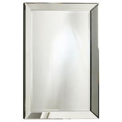 contemporary mirrors by Home Depot