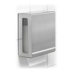 Blomus - Nexio Stainless Steel Paper Towel Dispenser - Made of stainless steel. 1-Year manufacturer's defect warranty. 10.67 in. L x 5.14 in. W x 12.05 in. H