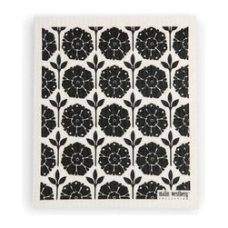 Swedish Dishcloth Garden - Authentic Swedish Dishcloth in beautiful modern design. Add some Scandinavian charm to your kitchen sink with these delightful contemporary designs in functional, reusable towels for your home.  Made of all natural materials and water-based inks.