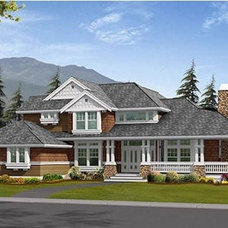 Traditional Exterior Elevation by Houseplans.com