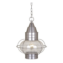 "Vaxcel - Vaxcel OD21836BN Chatham 13"" Outdoor Pendant Brushed Nickel - Vaxcel OD21836BN Chatham 13"" Outdoor Pendant Brushed Nickel"