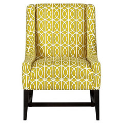 modern armchairs by Crate&amp;Barrel