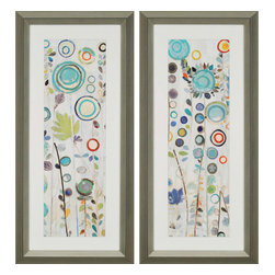Paragon - Ocean Garden PK/2 - Framed Art - Each product is custom made upon order so there might be small variations from the picture displayed. No two pieces are exactly alike.