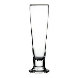 Hospitality Glass - 9.25H X 2 3/4T X 3B Cin Cin 14 oz Tall Beer Glasses 12 Ct - Cin Cin 14 oz Tall Beer