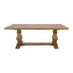 "Lane Tyden Dining Table - Dimensions: 30""h x 84""w x 42""d"