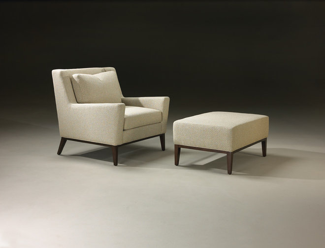 Midcentury Armchairs by Thayer Coggin