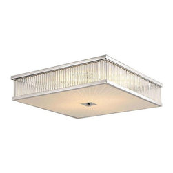 Trans Globe Lighting - Trans Globe Lighting 10164 PC Flushmount In Polished Chrome - Part Number: 10164 PC