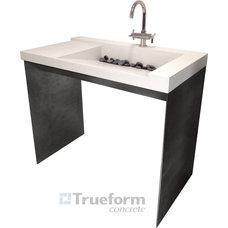 Contemporary Bathroom Sinks by Trueform Concrete