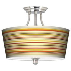 Lemongrass Drum Ceiling Light | 55DowningStreet.com