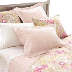 Pine Cone Hill - Hardwood Sunrise Pink Matelasse Coverlet - Hardwood Sunrise Pink Matelass- Coverlet
