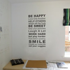 Contemporary Wall Decals by Bouf