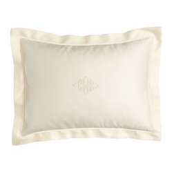 "Ralph Lauren 12"" x 16"" Sateen Pillow, Plain"
