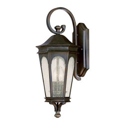 Capital Lighting - Traditional Classic 2 Light Outdoor Wall LanternInman Park Collection - Features: Specifications: Requires (2) x 60 Watt Candelabra Base Bulbs (Not Included) Since 1990, Capital Lighting has worked with residential, commercial, hotel and construction clients.