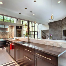 Contemporary Kitchen Cabinets by Kitchens by Bell, LLC