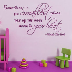 ColorfulHall Co., LTD - Wall Decals For Kids Sometimes The Smallest Things Take Up The Most - Wall Decals For Kids Sometimes The Smallest Things Take Up The Most