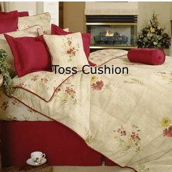 Daniadown Quilts - Florence Toss Cushion Cover - -270TC Egyptian Cotton Sateen  -Care: Machine Washable  -Polyfill is not inclued Daniadown Quilts - 465240T-COVER