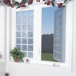 Privacy Windows - Privacy Windows for the Home.  Credit: Hy-Lite, a U.S. Block Windows Company