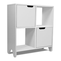 Spot on Square - Spot on Square | Hiya Bookshelf, White - Design by Spot On Square.
