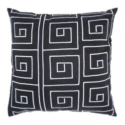 Rizzy Home - Blue and White Decorative Accent Pillows (Set of 2) - T03565 - Set of 2 Pillows.