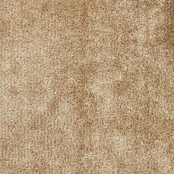 Jaipur Rugs - Beige /Brown Solid Pattern Shag Rug - FL06, 3.6x5.6 - Personal expression reaches new heights with Flux, a beautiful range of plush, hand-woven shag rugs of 100% polyester. This chameleon is ideal for the contemporary design lover who enjoys mixing up his or her personal space often acting as a rich background to a diverse palette of furnishings and accessories. Highly textured shag construction brings comfort underfoot while a palette of fashion forward solid hues commands attention in any room.